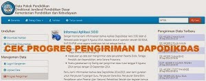 Cara Cek Hasil Sinkronisasi Dapodikdas 2014/2015 di Website dapo.dikdas.kemdikbud.go.id