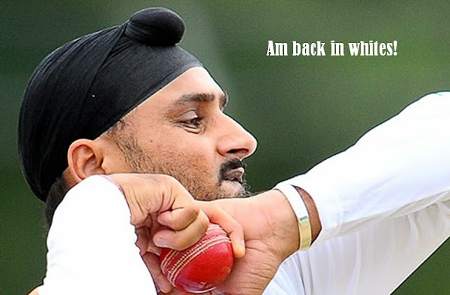 Harbhajan Singh Indian Team Test Squad for Bangladesh image