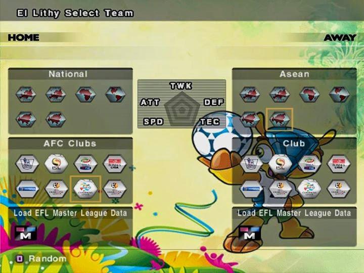 Download Update Option File Pes 6 World Cup Brasil 2014