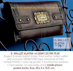 Wallets/Purses of elegant, trendy and fashionable style~