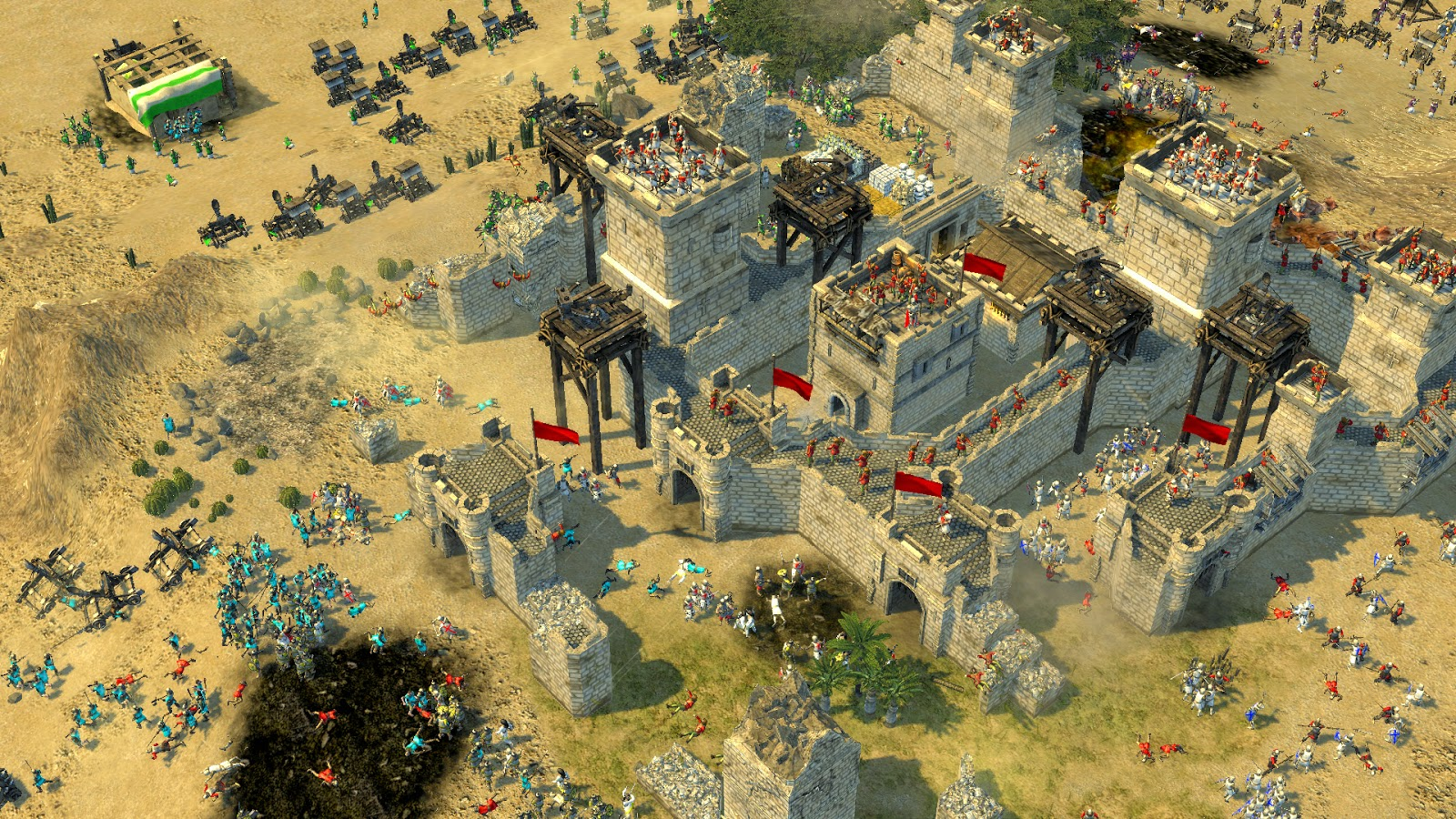 Stronghold Crusader 2 gamelay
