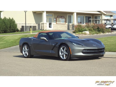 2015 Corvette Stingray at Purifoy Chevrolet