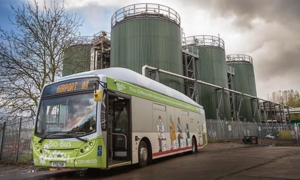 poo bus UK by Geneco