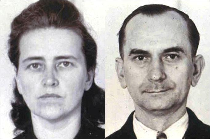 Otto Hampel y Elise Hampel