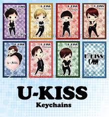 u kiss members names  卡通的你们依然那么可爱. :DD ♥