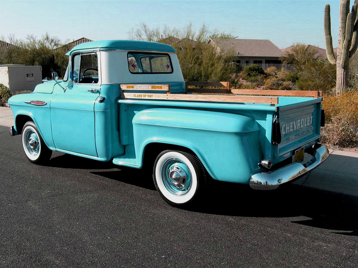 Country Life Style: 1959 Chevy Apache Pick-up Truck