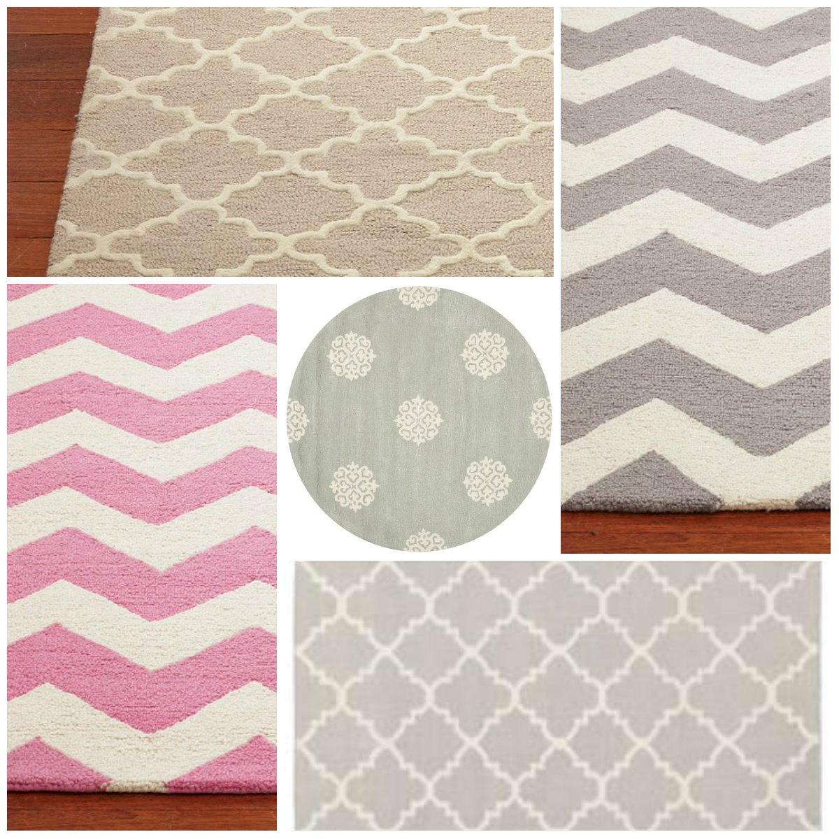 All Things Harrigan: Nursery Rugs