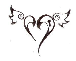 Heart Tattoos Designs on home designs with view