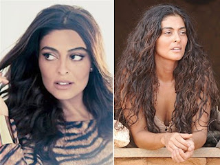 Juliana Paes de mega hair