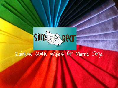 Silly Bear Wipes - Rainbow