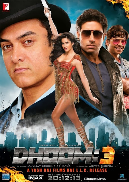 Dhoom 3 2013 DVDScr 400mb