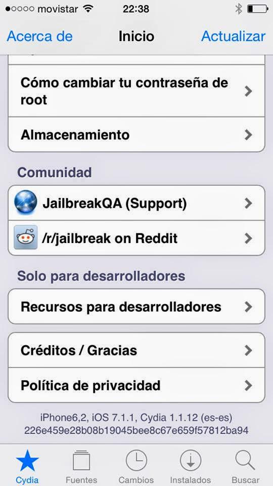 Ya es oficial Jailbreak Untethered para iOS 7.1.1