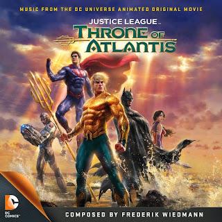 La liga de la justicia El trono de Atlantis Canciones - La liga de la justicia El trono de Atlantis Música - La liga de la justicia El trono de Atlantis Soundtrack - La liga de la justicia El trono de Atlantis Banda sonora