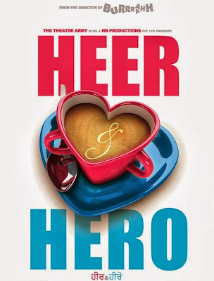 Poster Of Heer And Hero (2013) Full Punjabi Movie Free Download Watch Online At worldfree4u.com
