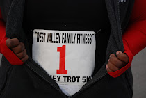 1st 5K {Turkey Trot~2009}