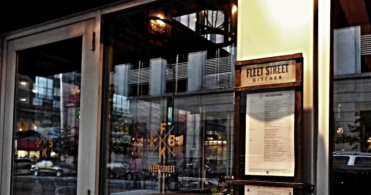 Fleet Street Kitchen Mere Green Menu