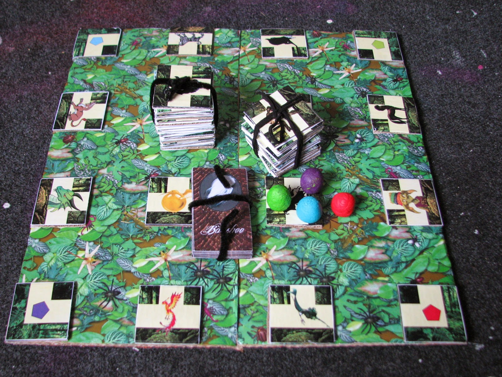 Homemade Harry Potter Board Game