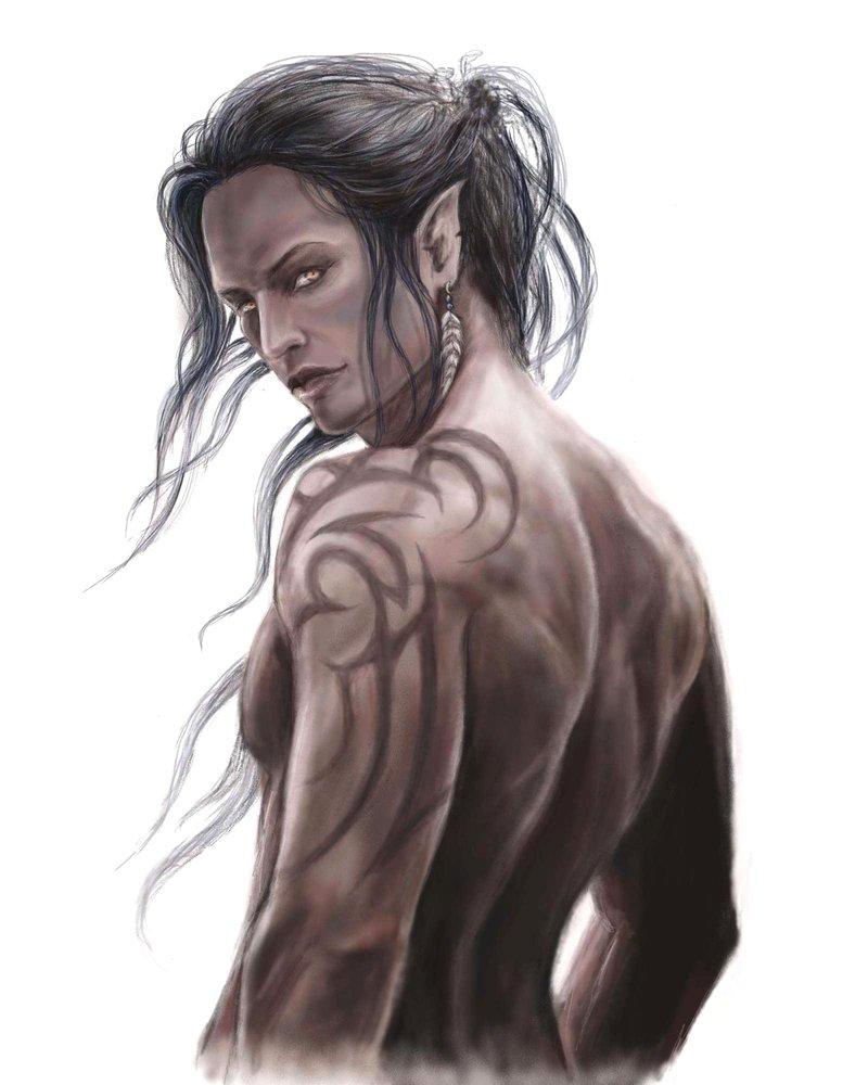 male night elf naked