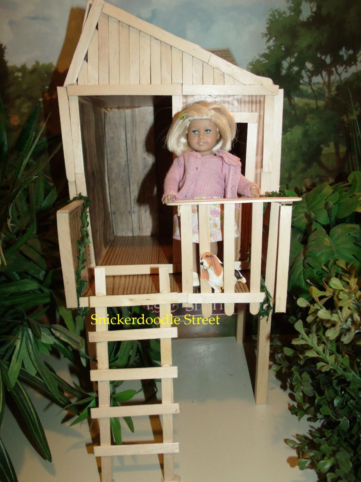 Snickerdoodle Street How To Make Mini Kit S Tree House