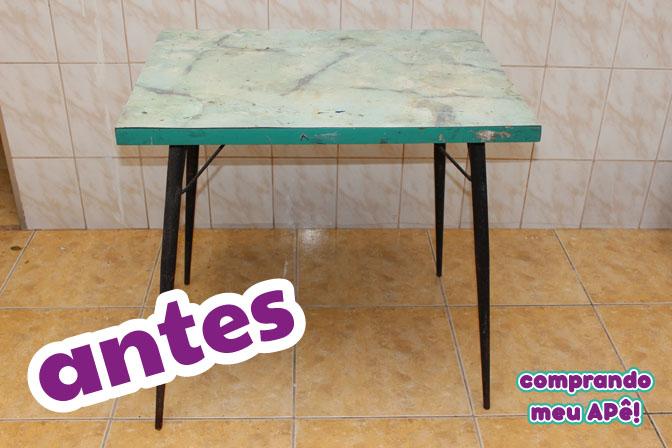 Diy antes e depois reformando uma mesa antiga - Como reformar tu casa ...