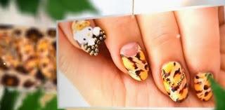 EASY Leopard Nail Art