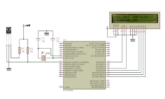 PIC: Controle Remoto IR - Protocolo NEC