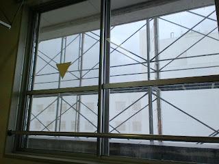 写真:窓からの眺め