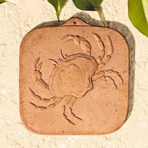 Gartendeko terracotta sternzeichen krebs for Gartendeko terracotta