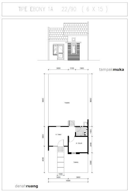 denah-rumah-ebony-1A-22-90