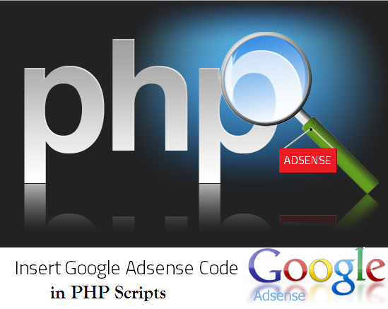 Add Google Adsense Code Properly in PHP Script Used Sites?