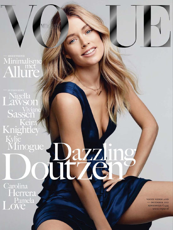 Doutzen Kroes - Vogue (Netherlands) December 2012