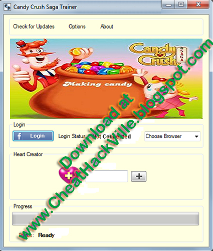 Candy Crush Saga Cheat Engine-Hack Tool Download