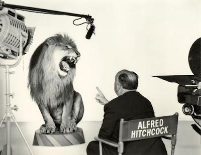 Alfred Hitchcock detrás de las cámaras