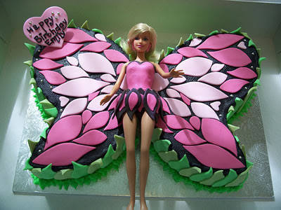 Barbie Birthday Cake Designs