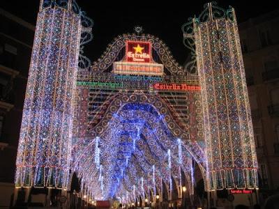 iluminacion calle sueca de Valencia