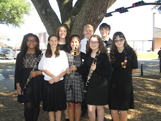 12 Catholic Middle School Band Members Accepted to Troy Honor Band 1