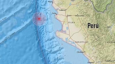 terremoto de 6,2 grados de magnitud sacudió el norte de Perú, 12 de Agosto 2013