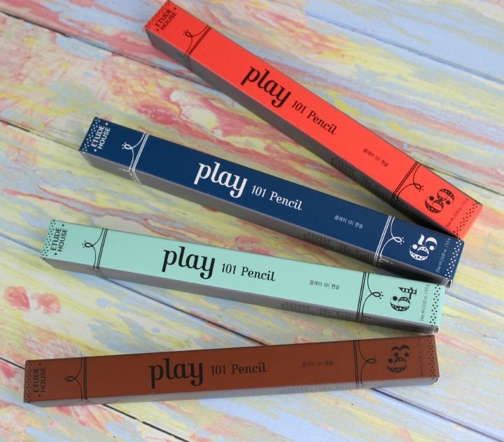 Etude House Play 101 pencils #63 #64 #65 #69 boxes