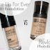 Revlon Photoready Foundation VS Make Up For Ever HD Foundation Comparison