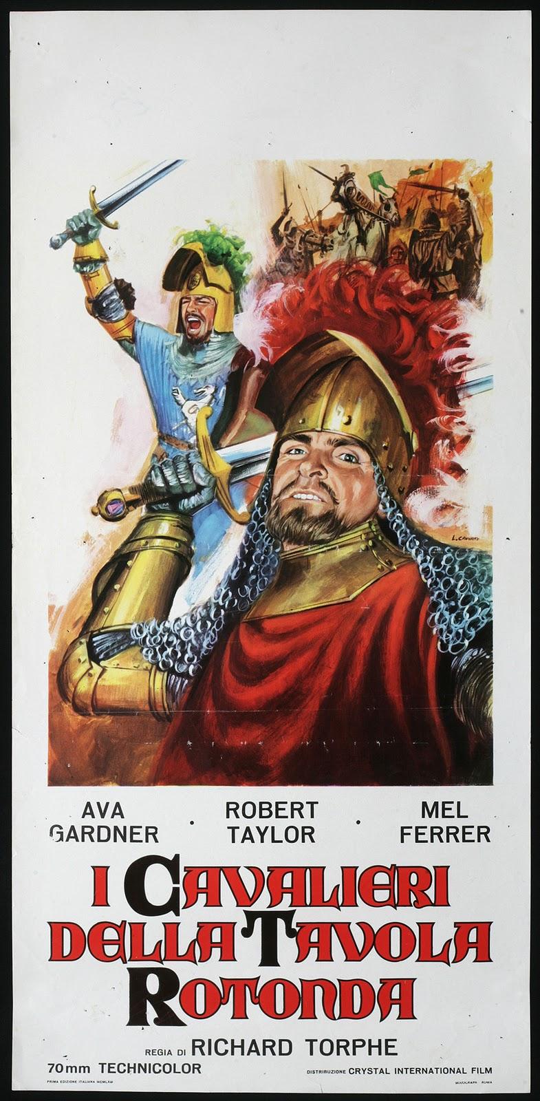 Passione super 8 i cavalieri della tavola rotonda 1953 - Tutti i cavalieri della tavola rotonda ...
