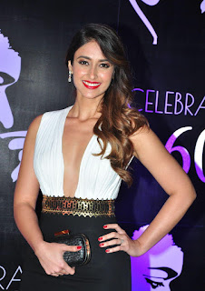Ileana D Cruz in a Deep Neck Top at Chiranjeevi 60th Birthday Celebrations, Hotel Park Hyatt, Hyderabad