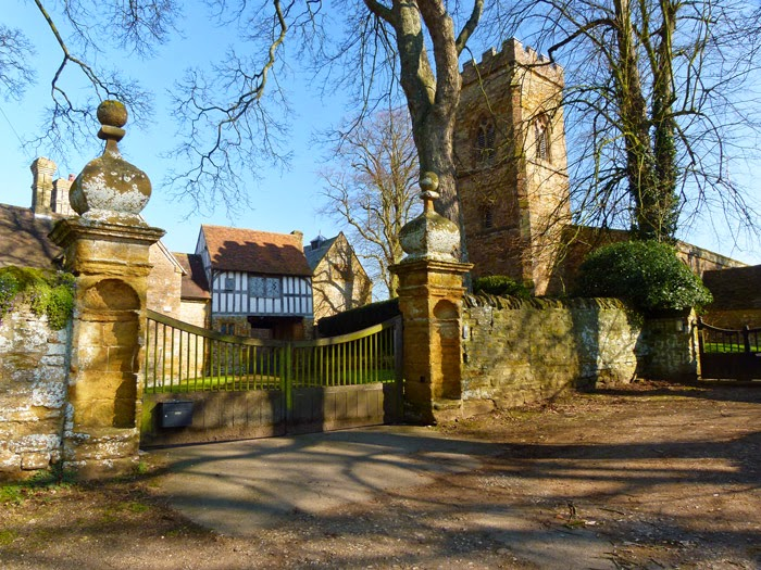 Ashby St Ledgers, church, Virgin Mary and St Leodegarius, manor house, gatehouse