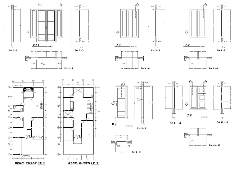 jasa desain autocad jasa gambar kerja autocad rumah