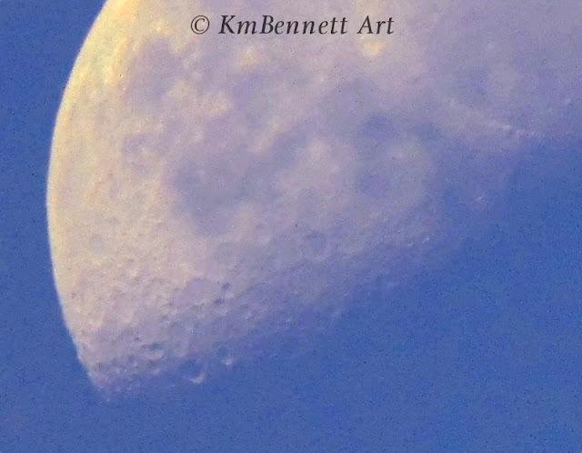 Moon photo 04 KmBennettArt