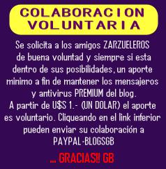 Cliquea s/el Fondo Amarillo para realizar tu colaboración