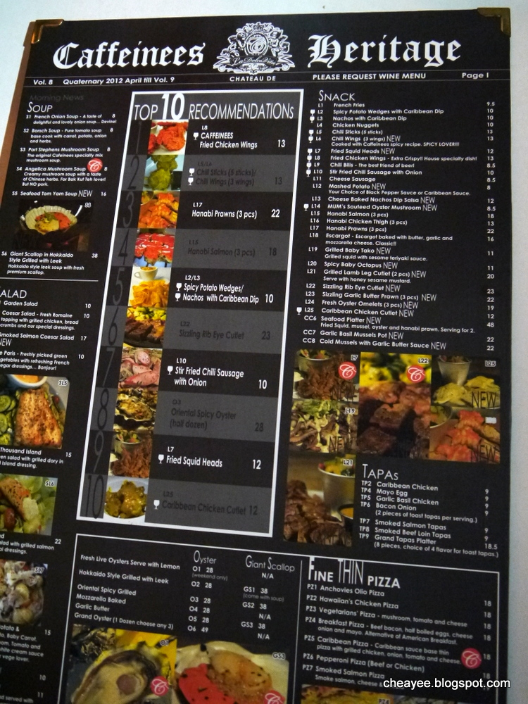 Eats Caffeinees Heritage Cafe Jalan Kampung Pandan