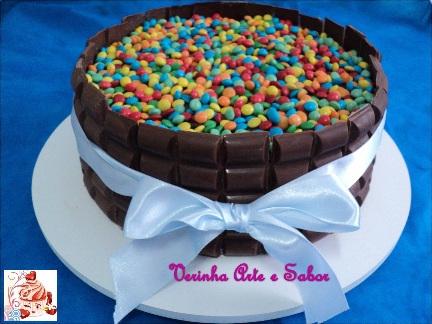 Favoritos Verinha Arte e Sabor: Bolo Chocolate HO37