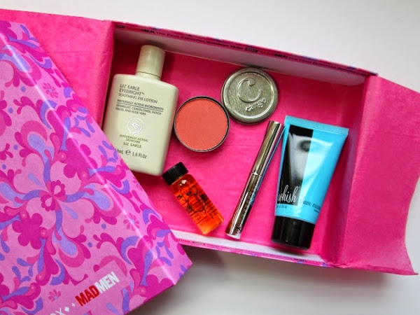 April Mad Men Birchbox Reveal & Review