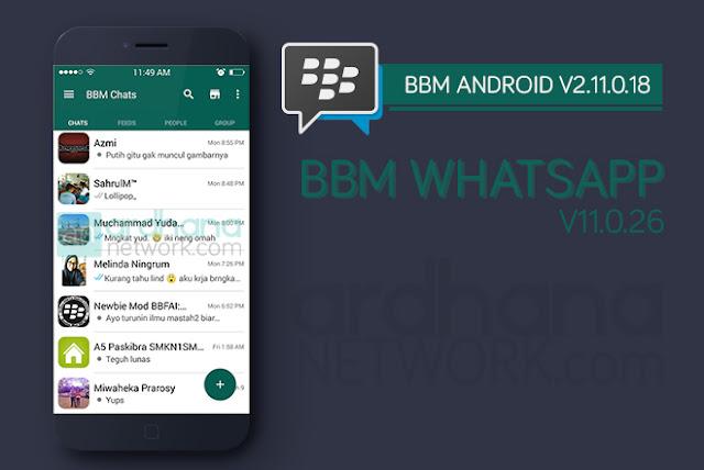 BBM Whatsapp V2.11.0.18 - BBM Android V2.11.0.18