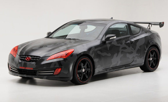 2010 Hyundai Genesis Coupe Modified